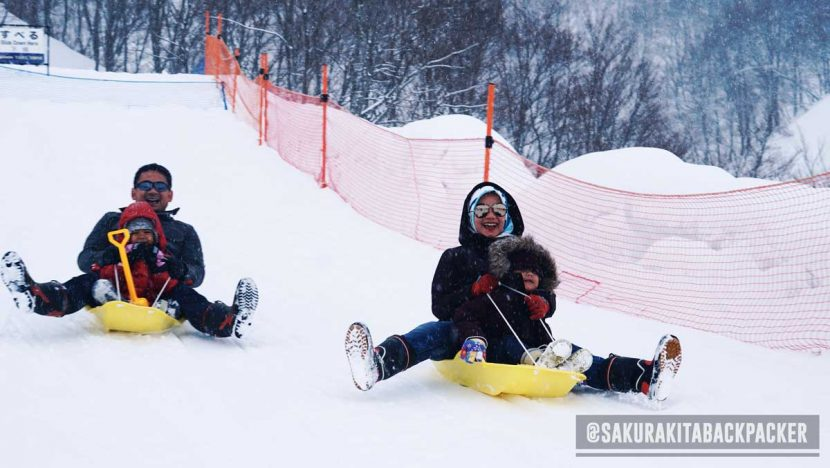snow play ground jepang