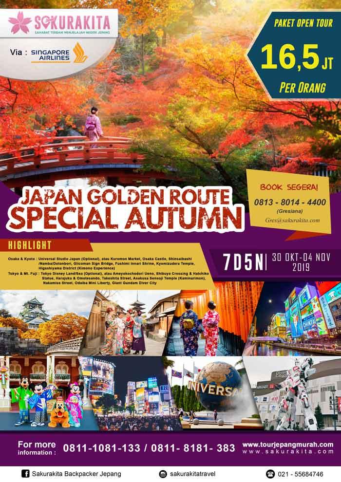 Japan-Golden-Route-Special-Autumn-Tokyo-Mt-Fuji-Kyoto-Osaka-7d6n-30-Okt